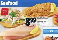 Fresh Tilapia Fillets - Roasts Or Panko Breaded