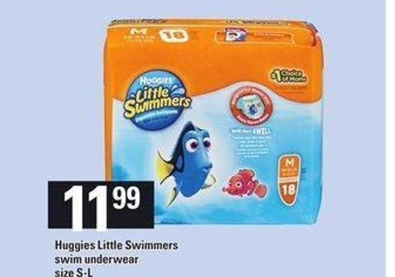 Huggies Little Swimmers Swim Underwear - Size S-l
