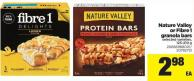 Nature Valley Or Fibre1 Granola Bars - 125-210 g