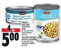 Selection Light Tuna - Irresistibles Beans 85 - 170 g - 398 - 740 ml