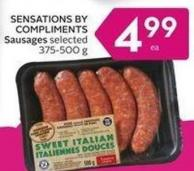 Sensations By Compliments Sausages