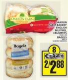 Oakrun Farm Bakery English Muffins - Crumpets Or Bagels