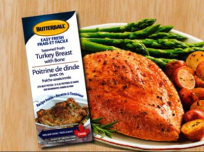 how to cook a butterball turkey breast