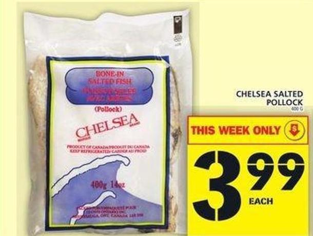 Chelsea Salted Pollock