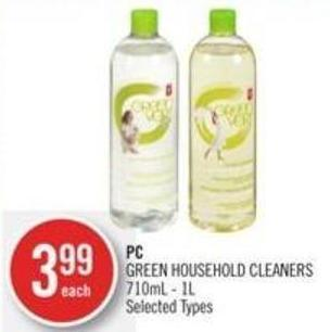 PC Green Household Cleaners