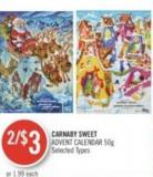 Carnaby Sweet Advent Calendar 50g