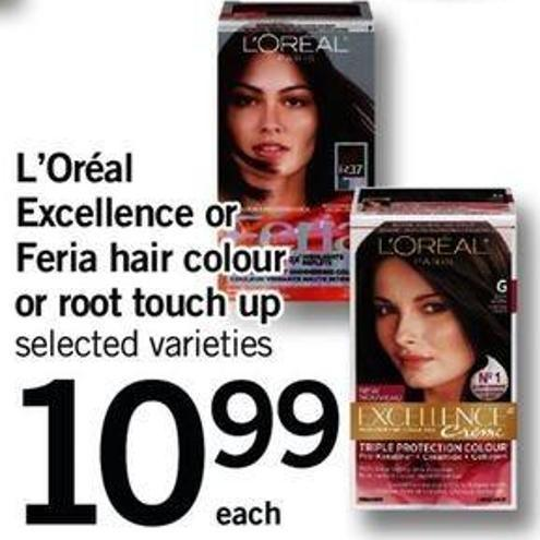 L'oréal Excellence Or Feria Hair Colour Or Root Touch Up