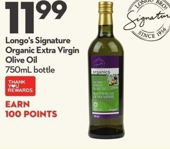 Longo's Signature Organic Extra Virgin Olive Oil
