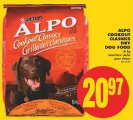 Alpo Cookout Classics Dry Dog Food - 16 Kg