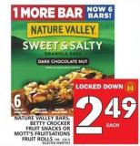 Nature Valley Bars - Betty Crocker Fruit Snacks Or Mott's Fruitsations Fruit Rolls