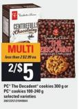 PC The Decadent Cookies - 300 G Or PC Cookies - 100-240 G