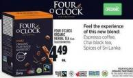 Four O'clock Organic Herbal Tea 16 Un.