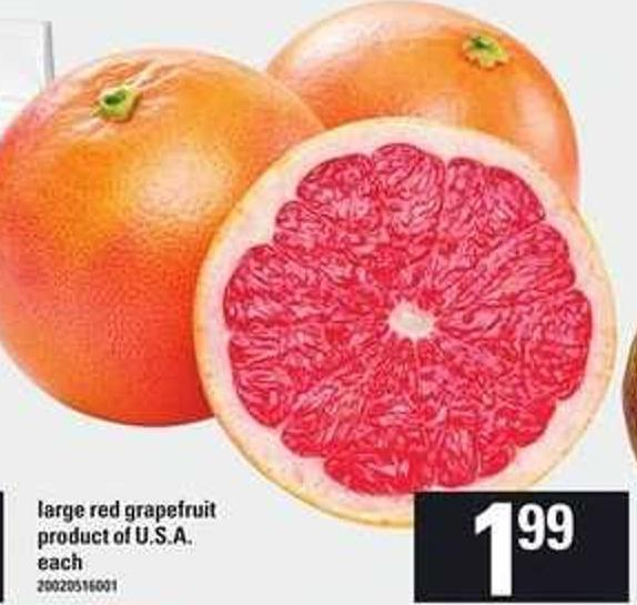 Large Red Grapefruit