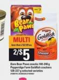 Dare Bear Paws Snacks - 140-240 G Pepperidge Farm Goldfish Crackers - 128-227 G