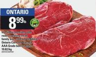 Top Sirloin Premium Oven Roast Or Grilling Steak