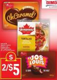 Vachon Snack Cakes Or Dempster's 10in Tortillas