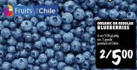 Organic Or Regular Blueberries