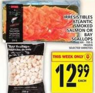 Irresistibles Atlantic Smoked Salmon Or Bay Scallops