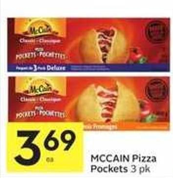 Mccain Pizza Pockets 3 Pk