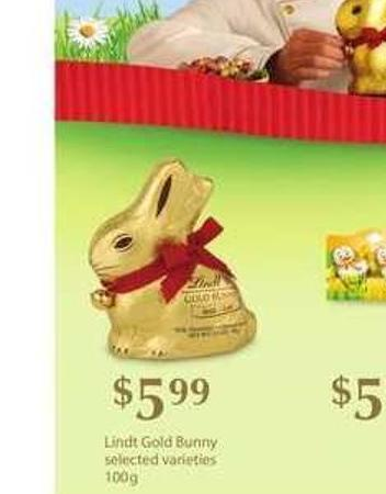Lindt Gold Bunny - 100g