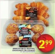 Irrresistibles Muffins - Croissants Or Cookies