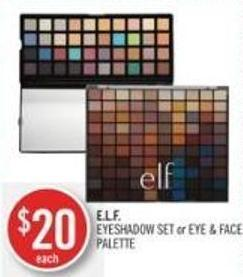 E.l.f. Eyeshadow Set or Eye & Face Palette