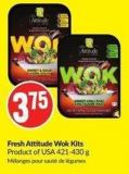 Fresh Attitude Wok Kits Product of USA 421-430 g