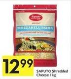 Saputo Shredded Cheese 1 Kg