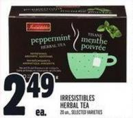 Irresistibles Herbal Tea