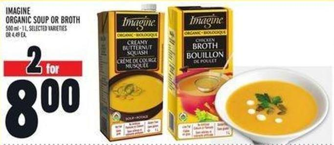Imagine Organic Soup Or Broth