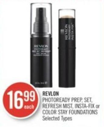 Revlon  Photoready Prep - Set - Refresh Mist - Insta-fix or Color Stay Foundations