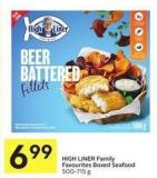 High Liner Family Favourites Boxed Seafood 500-715 g