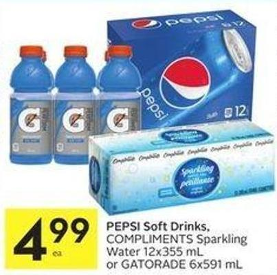 Pepsi Soft Drinks