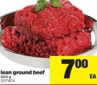 Lean Ground Beef - 500 g