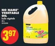 No Name Vegetable Oil - 3 L