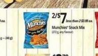Munchies Snack Mix  (272 g - Any Flavour)