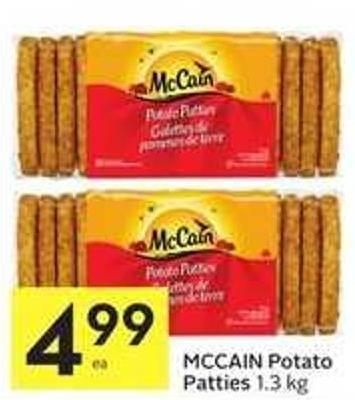 Mccain Potato Patties