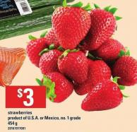 Strawberries - 454 g