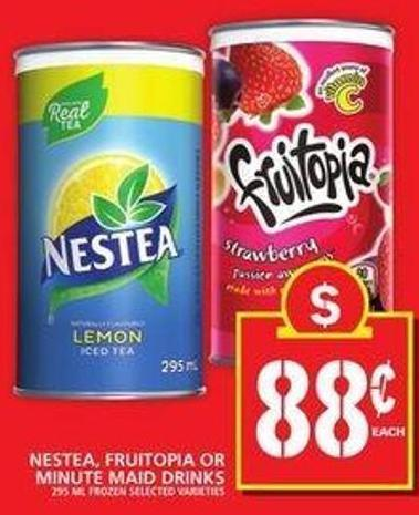 Nestea - Fruitopia Or Minute Maid Drinks