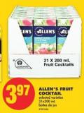 Allen's Fruit Cocktail - 21x200 mL