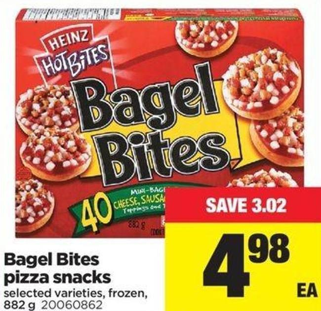 Bagel Bites Pizza Snacks - 882 G