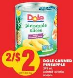 Dole Canned Pineapple - 398 mL