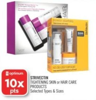 Strivectin Tightening Skin or Hair Care Products