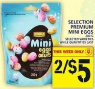 Selection Premium Mini Eggs