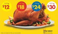 Whole Turkeys - 9-11 Kg