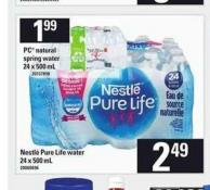 Nestlé Pure Life Water - 24 X 500 ml