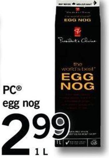 PC Egg Nog - 1 L
