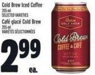 Cold Brew Iced Coffee 355 ml