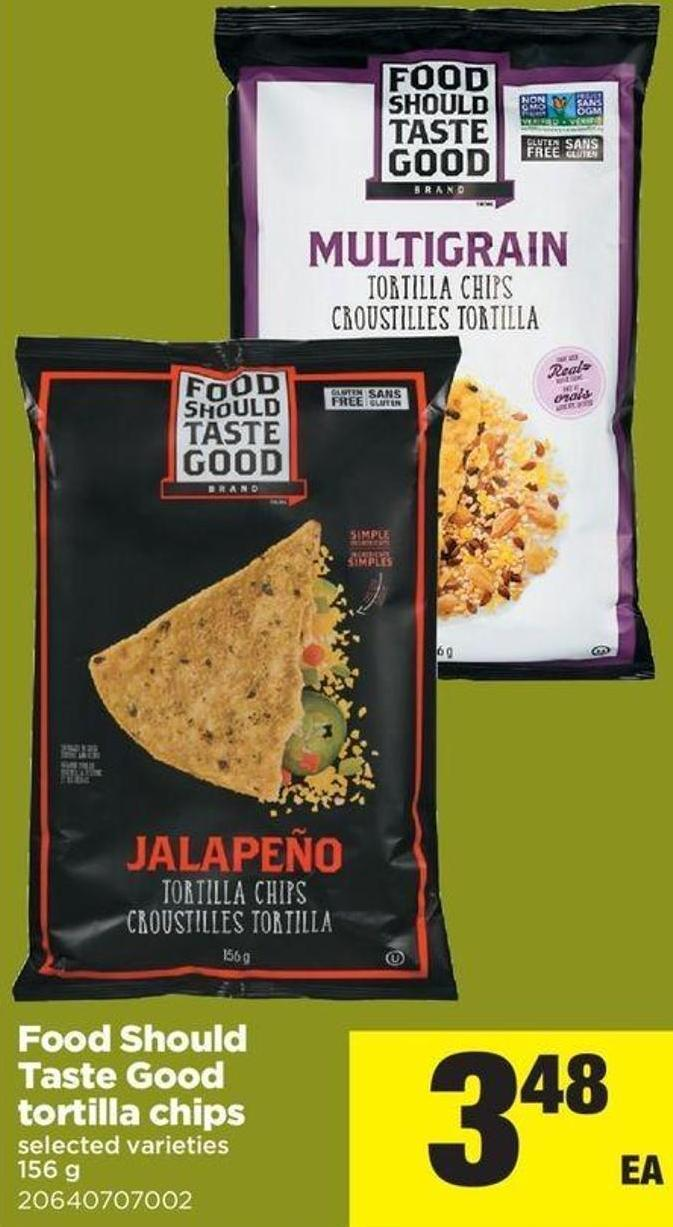 Food Should Taste Good Tortilla Chips - 156 G