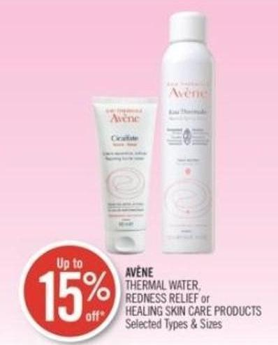 Avène Thermal Water - Redness Relief or Healing Skin Care Products